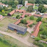 Aerial photo of Barns at Fingringhoe Hall